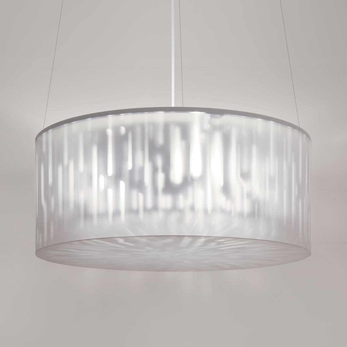 Lumetta Echo 33 inch Pendant in Echo Grey