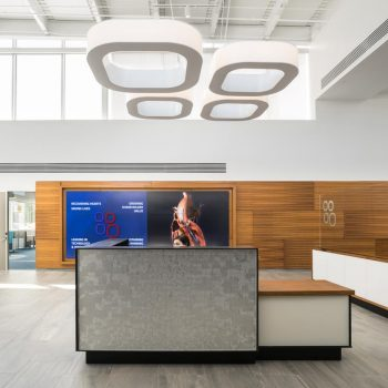 Stantec Creates a Bold Statement with Custom Lumetta Luminaire