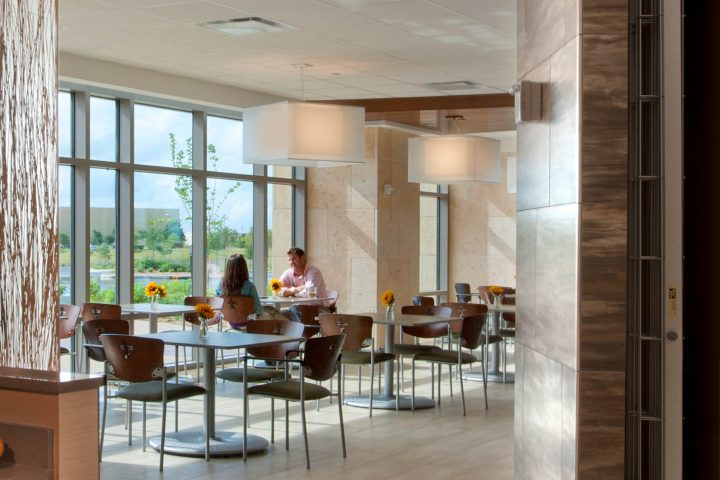 Complementing Natural Light At The Mission Trail Baptist Hospital