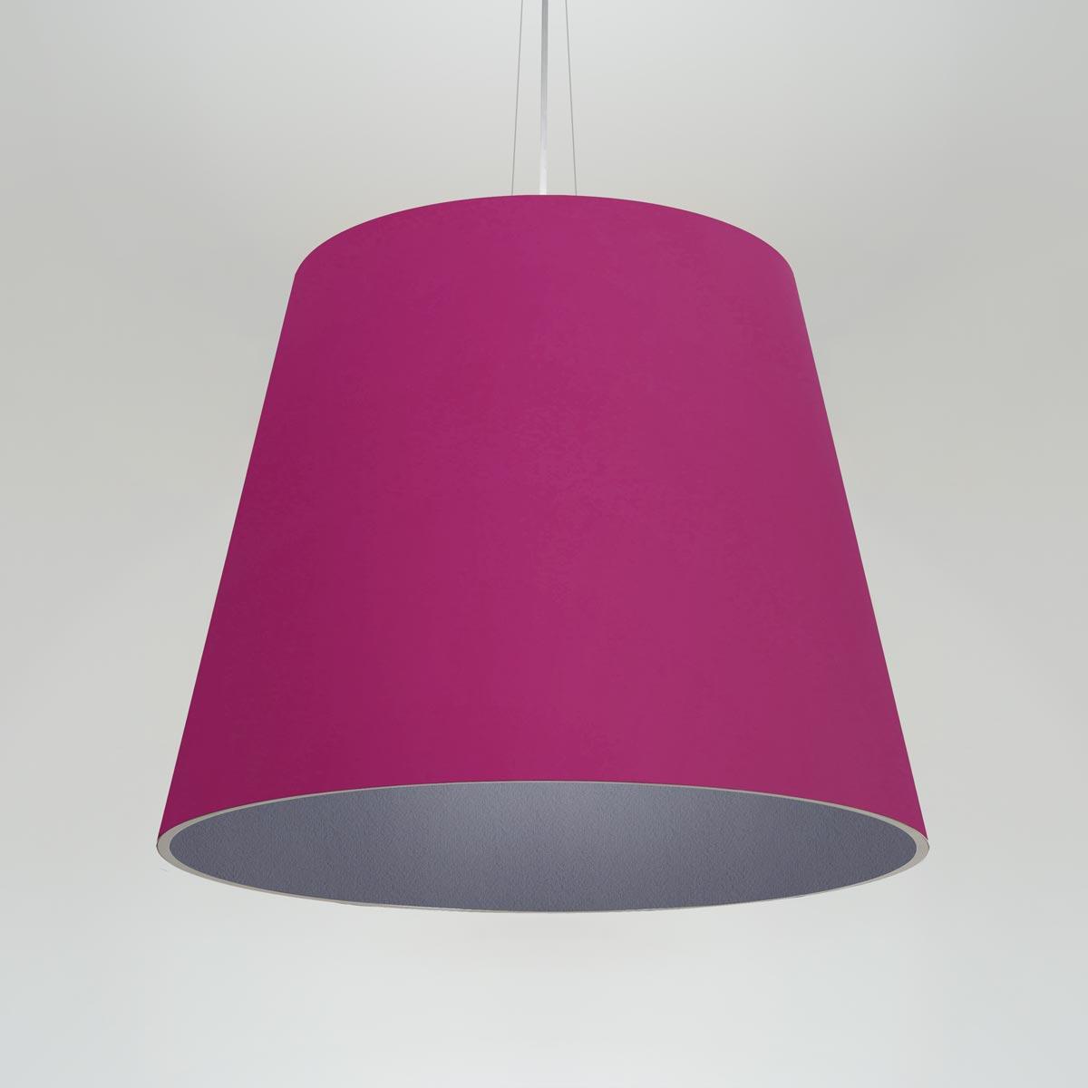 Acoustic LED pendant light. Choose acoustic, or acoustic/Lumenate® shades. Wide range of acoustic and Lumenate® colors/patterns.