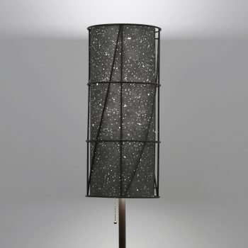 Lumetta's Arc Floor Lamp with Custom KnollTextiles Environmental Shade