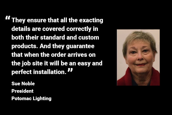 Working with Lumetta's people and lighting solutions is a true joy.