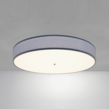 """34"""" Drum Surface Mount Luminaire Featuring Our Tamper Resistant Lens"""