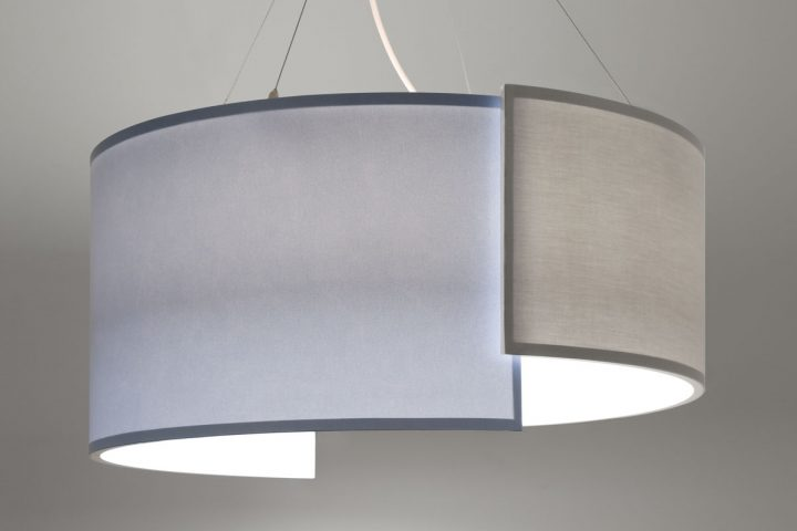 Lumetta's Dramatic Overlap Drum Pendant is a One-of-a-Kind Instant Sensation